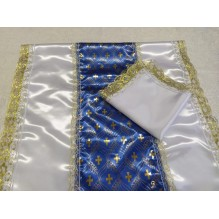 Комплект ритуальный (покрывало+наволочка  с замком)