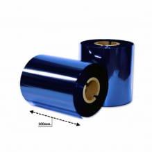 Риббон синий металлик 102мм*200м.