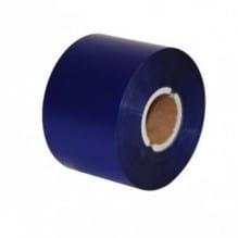 Риббон синий матовый 100мм*300м.