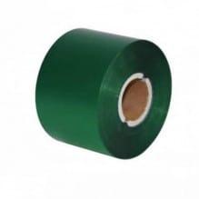 Риббон зеленый матовый 100мм*300м.