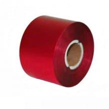 Риббон красный матовый 100мм*300м.