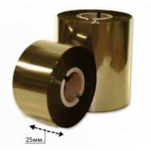 Риббон золото 25 мм*200м.
