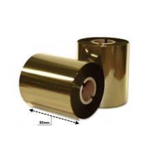 Риббон золото премиум 82мм*200м.