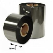 Риббон серебро 25 мм.*200м.